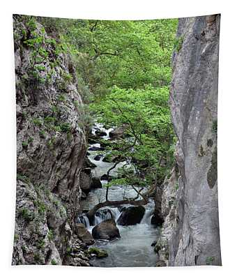 Vouraikos Gorge Tapestry