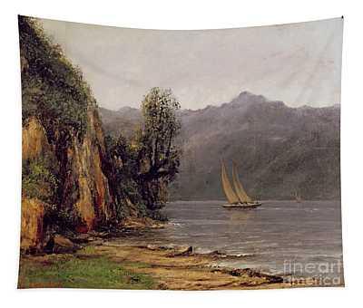 Vue Du Lac Leman Tapestry