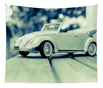 Vw Beetle Convertible Tapestry