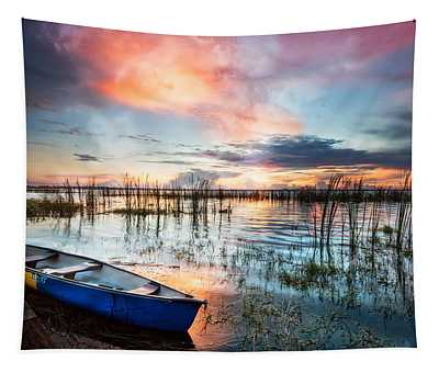 Waiting For Dawn Tapestry