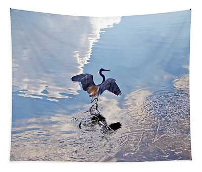 Walking On Water Tapestry