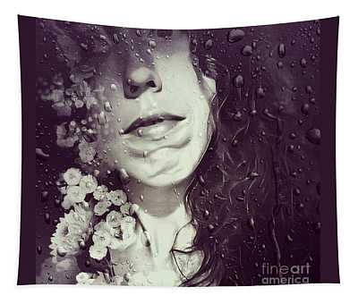 Wall Flower Tapestry