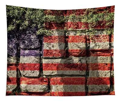 Wall Of Liberty Tapestry