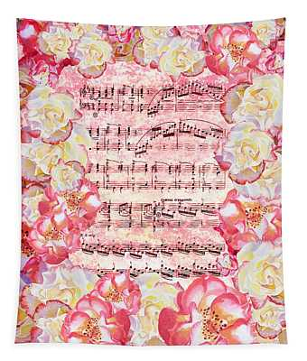 Waltz Of The Flowers Sweet Roses Tapestry