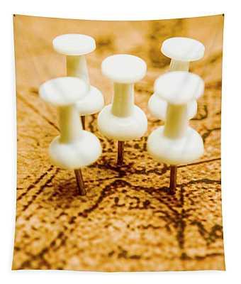 War Game Tactics Tapestry
