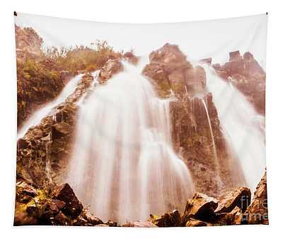 Waratah Wild Waterfall Tapestry