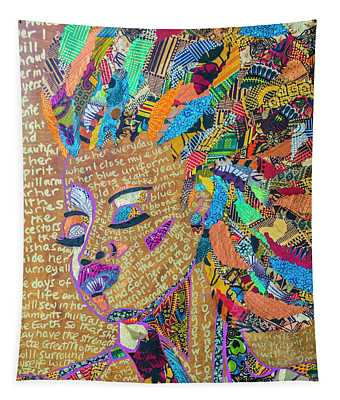 Warrior Woman Tapestry