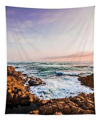 Wash Of Pastel Seas Tapestry