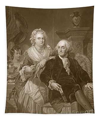 Washington At Home Tapestry