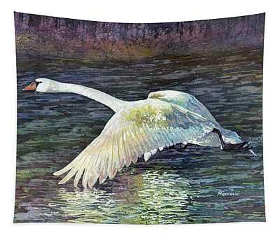 Mute Swan Wall Tapestries