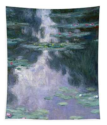 Water Lilies, Nympheas, 1907 Tapestry
