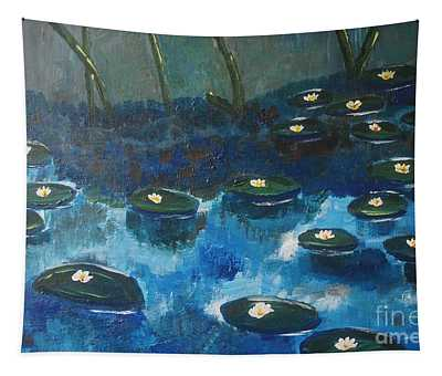 Water Lillies Tapestry