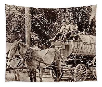 Water Trailer Tapestry
