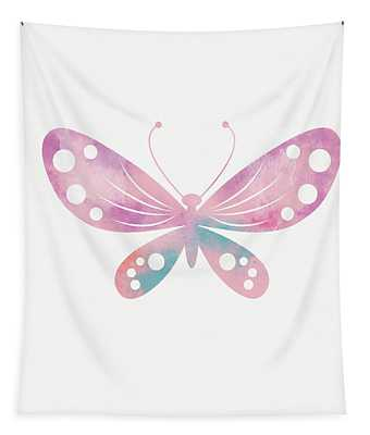 Watercolor Butterfly 1- Art By Linda Woods Tapestry