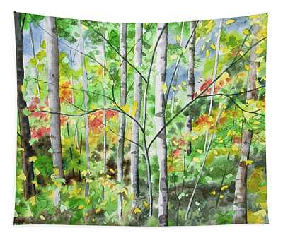 Watercolor - Northern Forest Tapestry