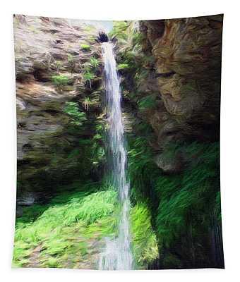 Waterfall 2 Tapestry