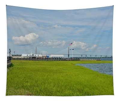 Waterfront Park Charleston Tapestry