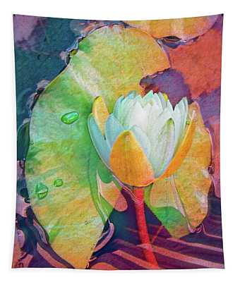 Watery Colors Tapestry