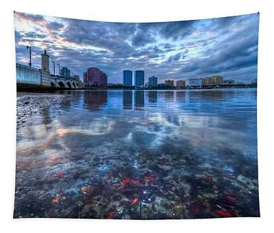 Watery Treasure Tapestry