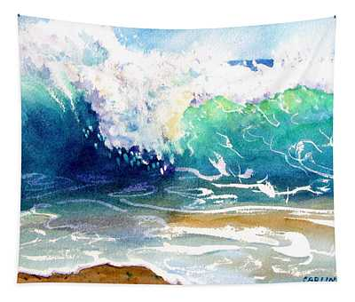 Wave Color Tapestry