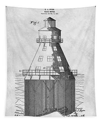 Wave Motor Patent Tapestry