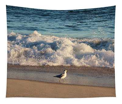 Waves Crashing  Tapestry