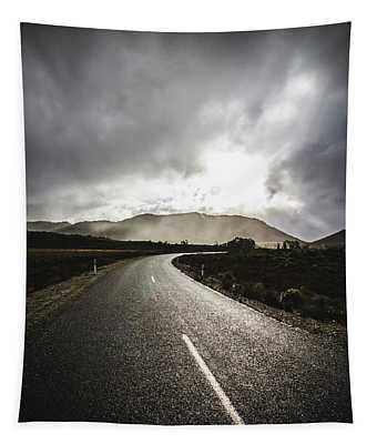 Way To Strathgordon Tapestry