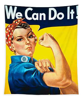 We Can Do It Tapestry