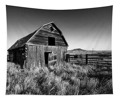 Weathered Barn Tapestry