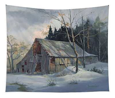 Weathered Sunrise Tapestry