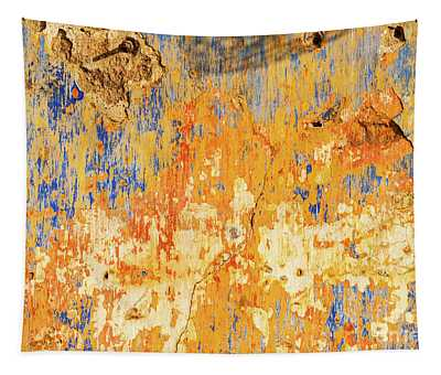 Weathered Wall 11 Tapestry