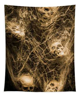Web Of Entrapment Tapestry