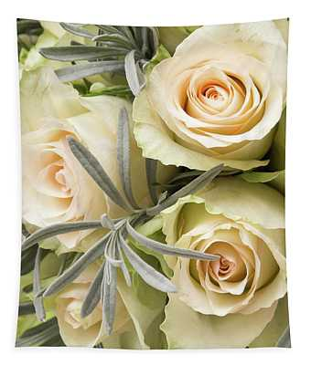 Wedding Flowers Tapestry