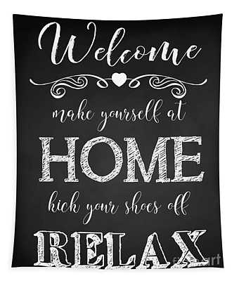 Welcome Home-a Tapestry