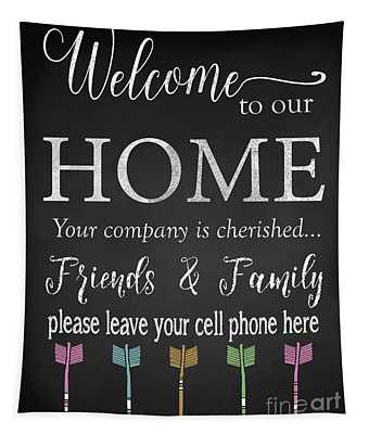 Welcome Home-e Tapestry