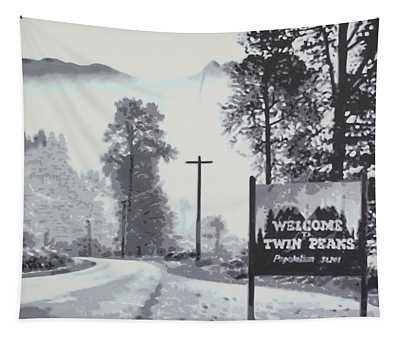Welcome To Twin Peaks Tapestry