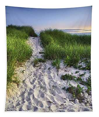 Wellfleet Beach Path Tapestry