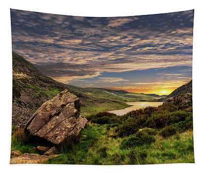 Welsh Mountains Snowdonia Tapestry