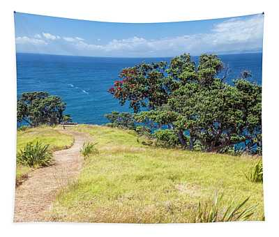 Whaler's Lookout Great Barrier Island New Zealand Tapestry