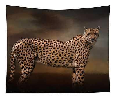 What You Imagine - Cheetah Art Tapestry
