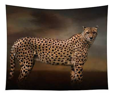 What You Imagine - Cheetah Art Tapestry