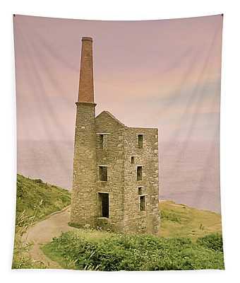 Wheal Prosper Mine, Rinsey, Cornwall Tapestry
