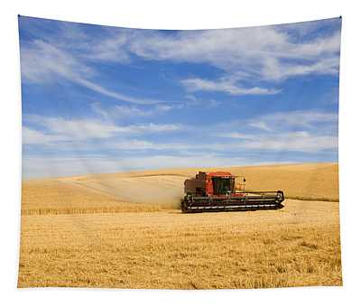 Wheat Harvest Tapestry