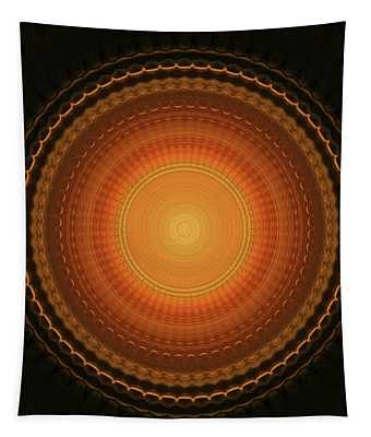 Wheel Kaleidoscope Tapestry