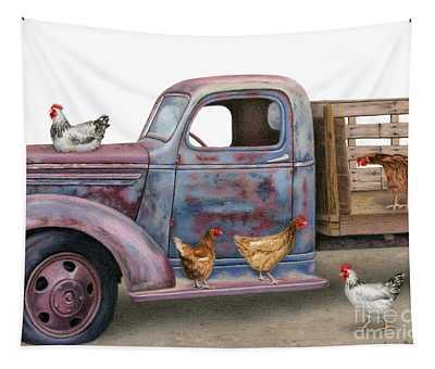 The Flock Spot  Tapestry