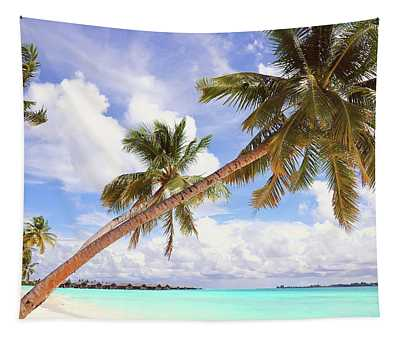 Whispering Palms. Maldives Tapestry