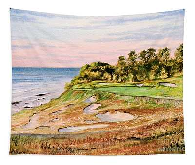 Whistling Straits Golf Course 17th Hole Tapestry