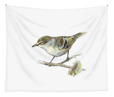 White-eyed Vireo Tapestry