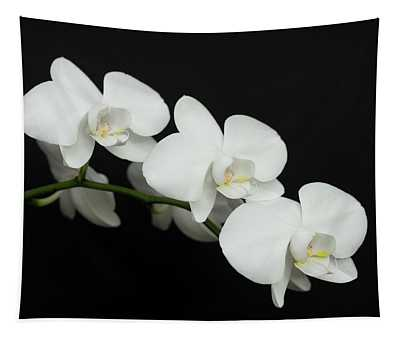 White On Black Tapestry
