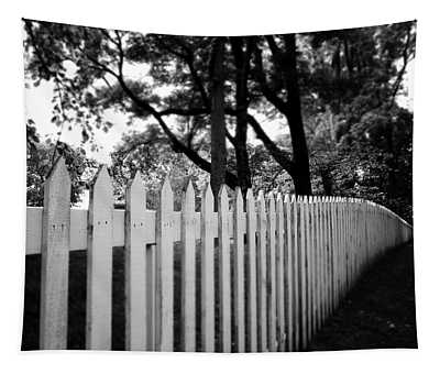 White Picket Fence- By Linda Woods Tapestry